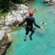 Canyoning Bovec: ein Spaziergang durch den Canyon